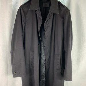 Prada Men's Black Rain Jacket